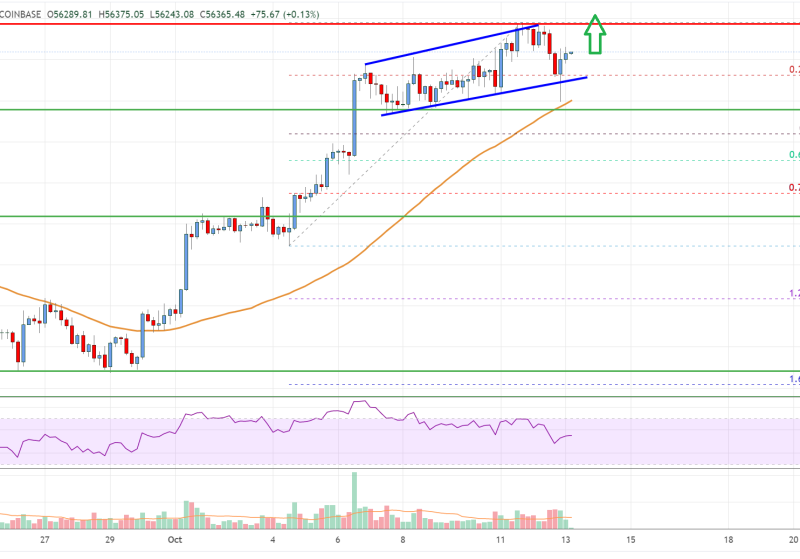 Bitcoin Price Analysis: BTC Remains Supported Above $54K