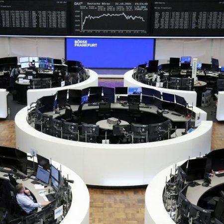 Evergrande relief, earnings prop up European stocks